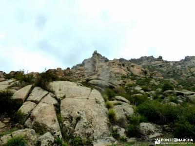 Sierra Porrones-Senda de las Cabras;laguna del duque ciudad encantada de tamajón anillo picos de eu
